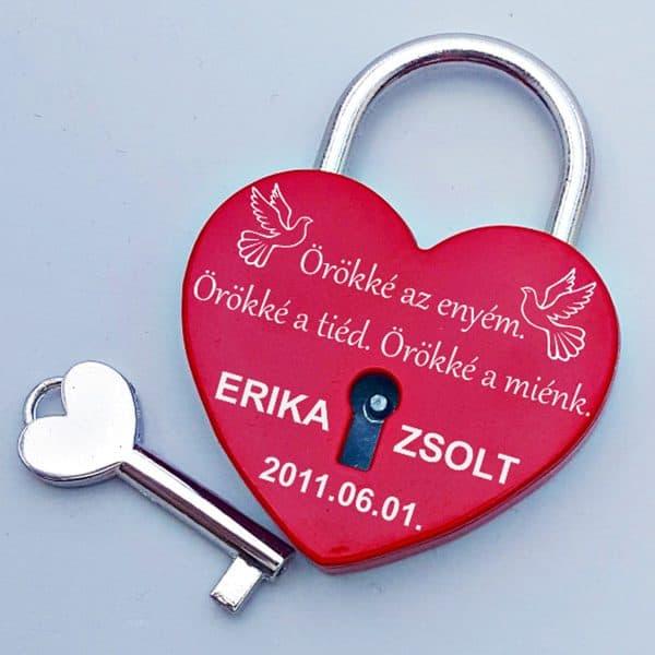 Szerelemlakat gravírozással, idézettel, szerelmes ajándék pároknak, ajándék évfordulóra