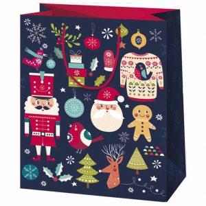 télapós ajándéktasak, mézeskalácsos csomagolás, karácsonyi ajándéktasak