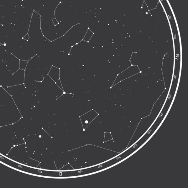 csillagos égbolt egyedi kép