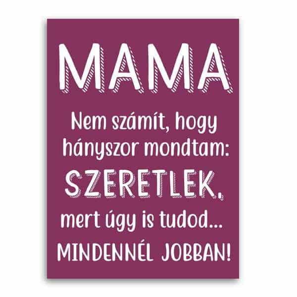 Anyák napi képeslap nagymamáknak