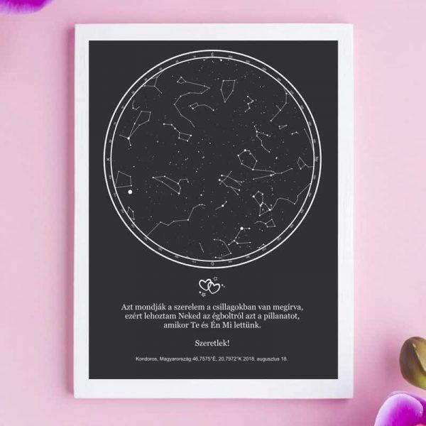 Csillagkép évfordulóra | asztali méret