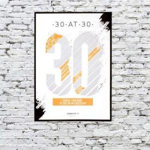 Kaparós poszter- 30 kihívás, 30 évesen
