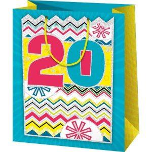 20. szülinapi ajándéktasak, szülinapi ajándéktasak