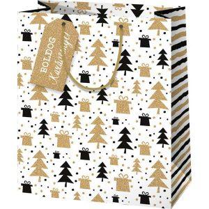 Boldog karácsonyt – elegáns ajándéktáska