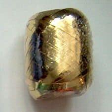 Arany ajándék kötöző szalag