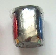 Metál ezüst ajándék kötöző szalag