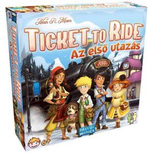 Ticket To ride- az első utazás