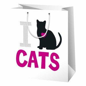 i LOVE CATS AJÁNDÉKTASAK