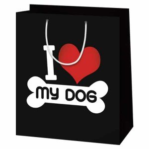 I love my dog ajándéktasak