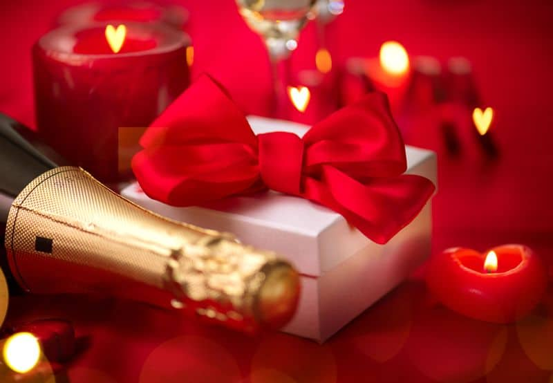 Romantikus Valentin-napi ajándékok