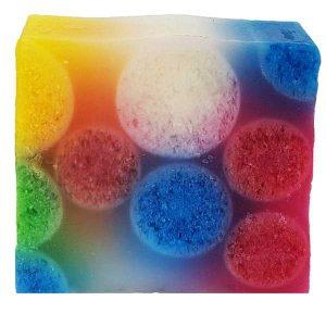 Gyümölcsbuborék szappan