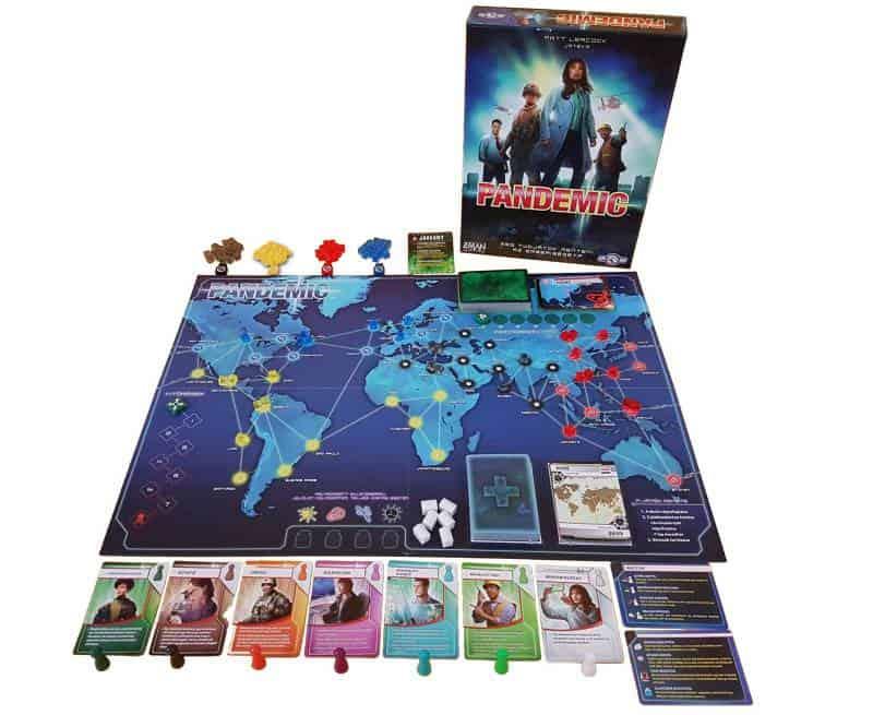 Pandemic társasjáték-mentsd meg a világot