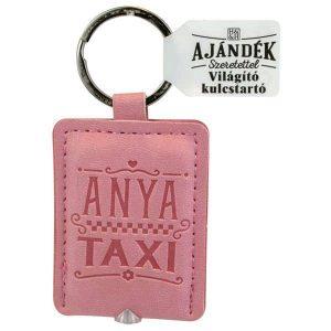 Világító kulcstartó, Anya taxi