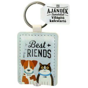 Világító kulcstartó, Best friends