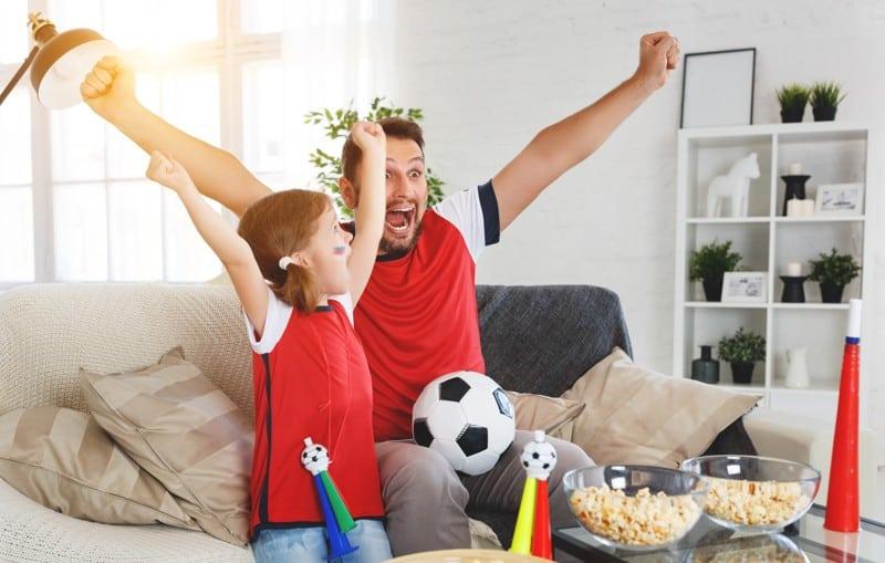 Amennyiben apukád rajong a sportokért