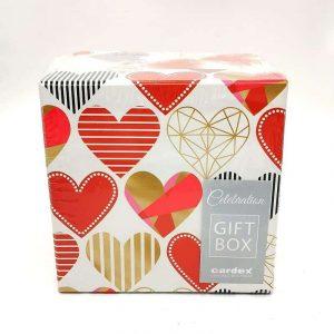 Sok szeretettel ajándékdoboz, választható méretben