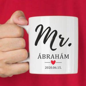 Mr. bögre a vőlegénynek - esküvői ajándék ötlet