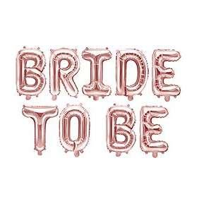 Fólia lufi - Bride to be, lánybúcsú kellék