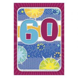 60. szülinapi képeslap