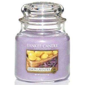 Lemon lavender - Yankee Candle üveggyertya