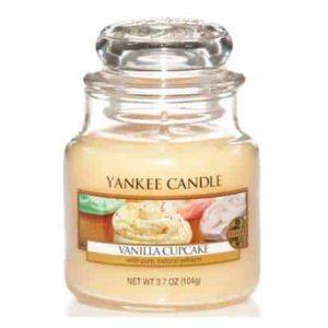 Vanilla Cupcake - Yankee Candle üveggyertya