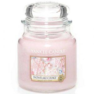 Snowflake Cookie - Yankee Candle üveggyertya