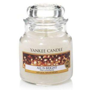 All is bright - Yankee Candle üveggyertya