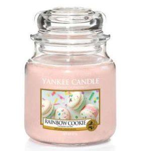 Rainbow cookie - Yankee Candle üveggyertya