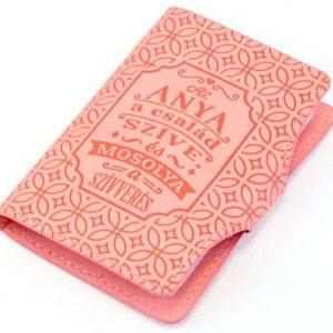 Női kártyatartó - Anyáknak szóló felirattal