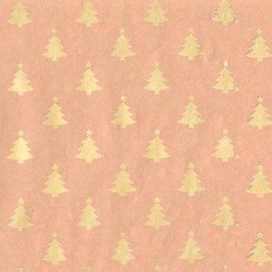 Újrahasznosított, karácsonyi csomagolópapír tekercs
