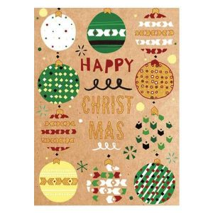 Happy christmas ünnepi üdvözlőlap
