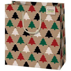 Környezetbarát ünnepi tasak karácsonyi ajándékokhoz