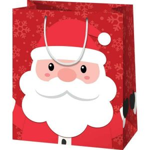 Mikulás tasak, karácsonyi ajándéktáska