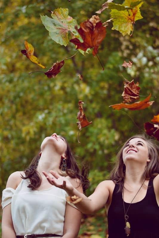 barátok ősszel