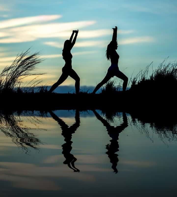 jóga lányok