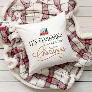 Karácsonyi párna - karácsonyi dekorációs elem