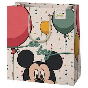 Mickey egeres szülinapi tasak, környezetbarát