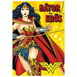 Wonder Woman stílusú névnapi képeslap