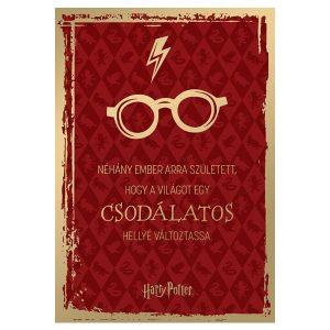 Harry Potteres szülinapi képeslap