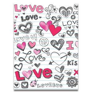 Mini card - LOVE