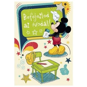 Mickey egeres képeslap, ovis ballagásra