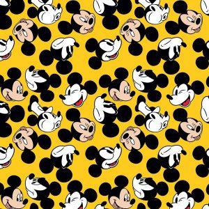 Vidám Mickey egeres csomagolópapír tekercs