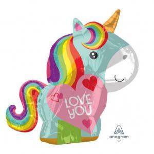 Fólia lufi - Unicorn love