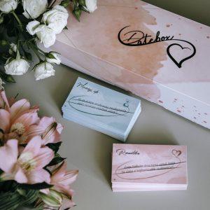 DateBox kártya pároknak - romantika és minőségi idő verzió
